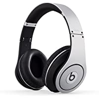 Beats Studio Wired Over-Ear Headphones NOT WIRELESS - Silver (Certified Refurbished)