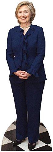Hillary Clinton Lifesize Standup Cardboard Cutouts 72 x 24in by Star Cutouts