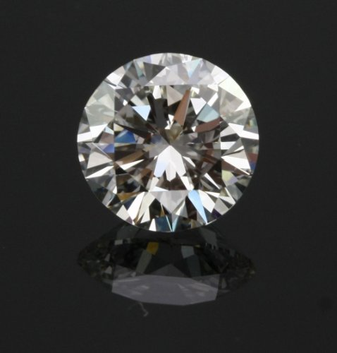 Cubic Zirconium Stone (2ct 8mm Round Crystal Carbon Labs Stone Replaces Diamonds and Moissanite better than CZ …)