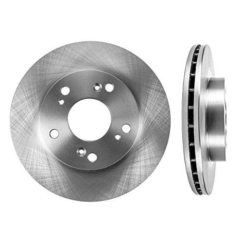 FRONT Premium Grade OE 261.6 mm [2] Rotors Set CBO200011 [ for Acura RSX Honda Civic Coupe Sedan Hatchback Hybrid ]