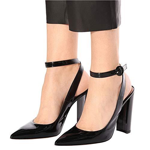Color De 40 Sólido He Señoras Con Cena El Nueva Alto Gruesa Zapatos Señoras yanjing 2019 a Manera Sandalias Acentuada Talón La Del Hebilla Las Elegantes SUHUqnEx