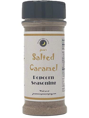 Premium | SALTED CARAMEL Popcorn Seasoning | Crafted in Small Batches with Farm Fresh INGREDIENTS for Premium Flavor and Zest | 5.5 fl oz ()
