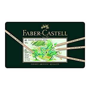 Faber-Castell Pitt Pastel 60 Colour Pencils Tin (27-112160)