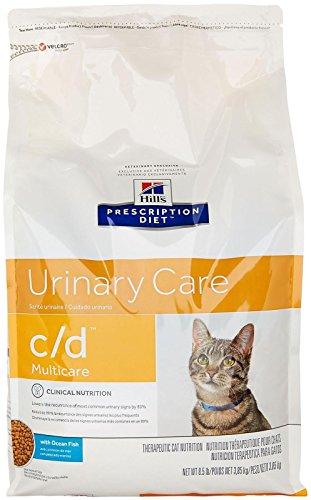 Hill's Prescription Diet C/D Multicare Feline Urinary Care - Ocean Fish - 8.5Lb