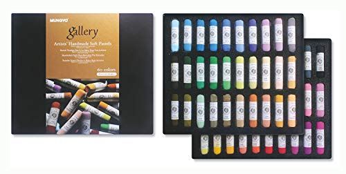 (Mungyo Gallery Handmade Soft Pastel Set of 60 - Portrait Colors )