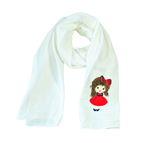 Size weiß Scarf Acvip Girl A One q1twPx87