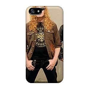CristinaKlengenberg Iphone 5/5s Anti-Scratch Hard Phone Case Provide Private Custom Vivid Megadeth Band Pattern [btX904VTzq]