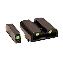 TRUGLO Tritium Handgun Sight Set - Glock 42/43