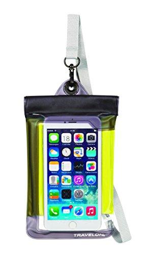 travelon-waterproof-smart-phone-digital-camera-pouch-yellow-one-size