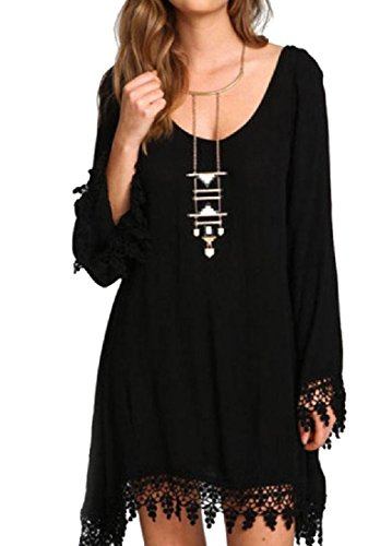 6xl black dress shirts - 7