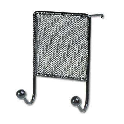 Fellowes - 3 Pack - Mesh Partition Additions Double-Garment Hook 4 1/2 X 6 Black ''Product Category: Desk Accessories & Workspace Organizers/Wall & Panel Organizers'' by Original Equipment Manufacture