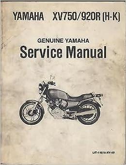 1982 Yamaha Motorcycle Xv750920r H K Lit 11616 Xv 90