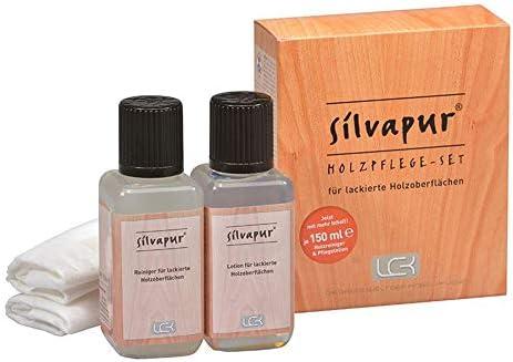 SILVAPUR Holzpflege Set für lackierte Oberflächen von LCK