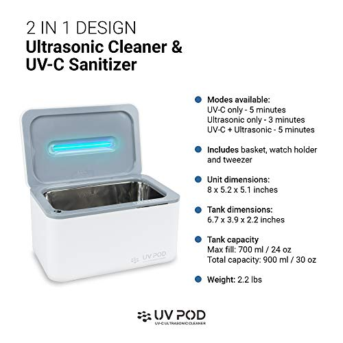 Best Ultrasonic Jewelry Cleaner of 2019 - Reviews with ...