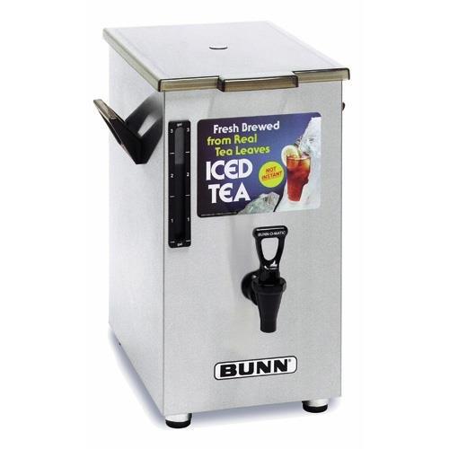BUNN 3250.0003 TD4 Iced Tea Dispenser with Solid Lid