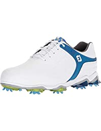 FootJoy Mens Men's Tour-s Golf Shoes White 10.5 W Golf Shoe