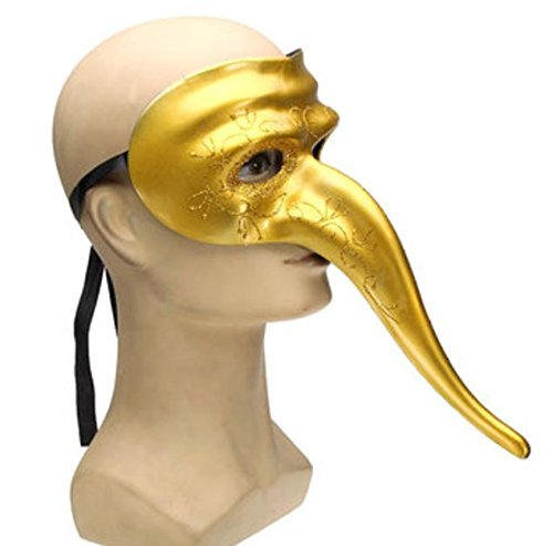 Halloween Costumes Long Nose Masks Masquerade Party DIY Drawing by Advanced