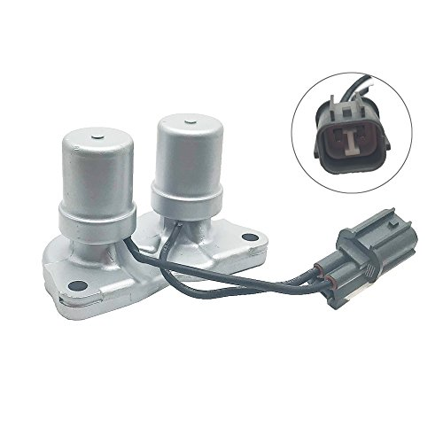 Lock Shift (Transmission Lock up Solenoid Shift Solenoid Assembly without Gasket for 1998-2002 Honda Accord 4 Cylinder 1997-2001 Honda Prelude 1997-1999 Acura CL 1995-1998 Honda Odyssey Replace OE#28300-PX4-003)