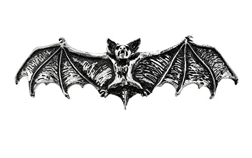 Alchemy Gothic Halloween Party Fashion Jewelry Darkling Bat Hair Slide]()
