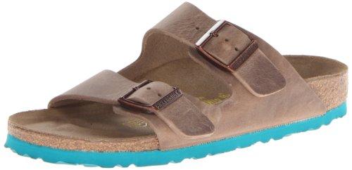 Birkenstock Unisex Arizona LT Mint Sole Sandal,Tabacco Brown,42 M EU/11-11.5 M US