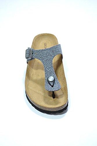 Grunland Ciabatte infradito grigio scarpe donna CB0021