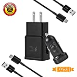 Fast Charge Adaptive Fast Charger Kit for Samsung Galaxy S9/S8/S8 Plus/Note8,MBLAI USB Type C Fast Charging Kit True Digital Adaptive Fast Charging (Combo Set (Fast Charging Kit)).