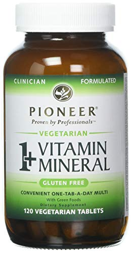 (Pioneer Nutrition 1 Plus Vitamin Mineral Veg, 120 Count)