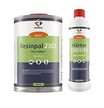 Extrem 1 kg Epoxidharz Resinpal 2301 + 0,5 kg Härter | glasklares Epoxy YF02