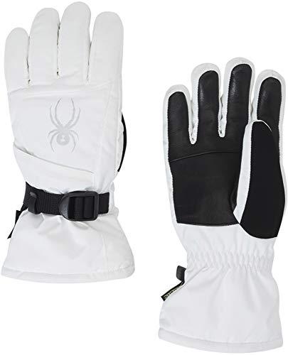 Spyder Women's Synthesis Gore-tex Ski Glove, White/White/White, Medium
