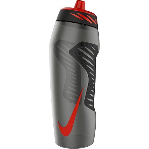 Nike Hyper Fuel Water Bottle 32 oz (Anthracite / Black/Uni Red)