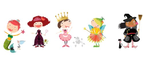 (Pop & Lolli DESIGN DIVA! Sassy & Sweet Dress me up! GIRL Accessories, Chic Fabric Stickers)