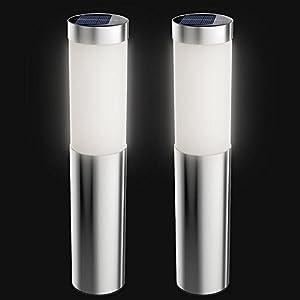 Amazon.com : Artika I6 LED Stainless Steel Solar Bollard
