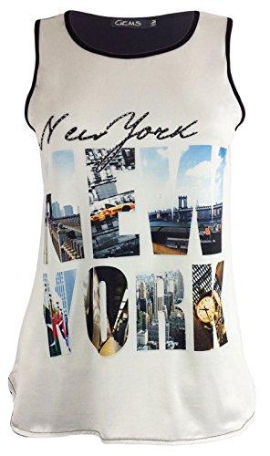 Generic - Camiseta sin mangas - para mujer New York Print