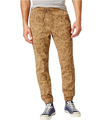 American Rag Mens 2-Tone Casual Jogger Pants free shipping