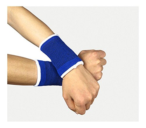 2 WRIST Support Hand Brace Elastic Sleeve Carpal Tunnel Tendonitis Pain Relief from Generic