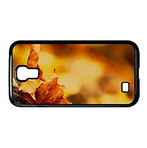 Leaf Watercolor style Cover Samsung Galaxy S4 I9500 Case (Autumn Watercolor style Cover Samsung Galaxy S4 I9500 Case)