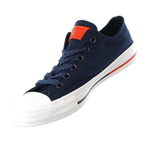 Converse, scarpe sportive unisex Chuck Taylor All Star OX, con lacci e doppia linguetta
