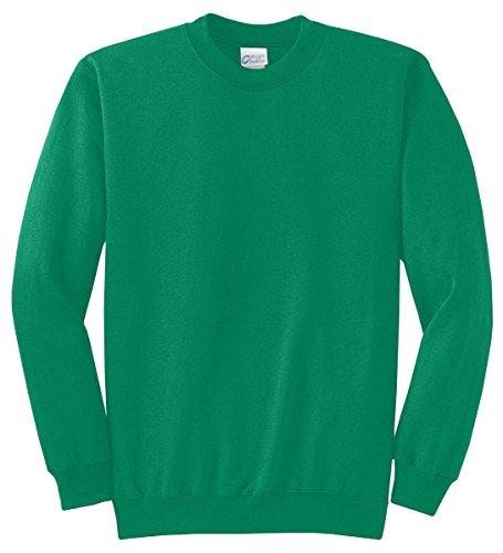 - Port & Company Men's Classic Crewneck Sweatshirt M Kelly