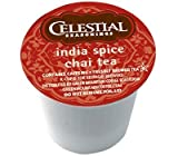 Celestial Seasonings India Spice Chai Tea for Keurig Brewing Systems 24 K-Cups (3 Pack) by Celestial Seasonings