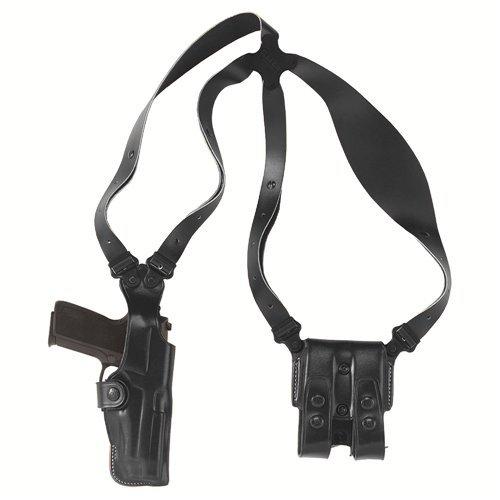 (Galco Vertical Shoulder Holster System for Beretta 92F / FS (Black, Ambi))