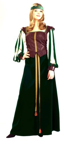 Super Deluxe Maid Marian Costume - Womens (Adult Super Deluxe King)