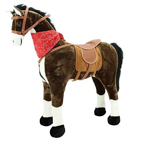 Sweety Toys 5048 Plüsch Pferd XXL Riesen Stehpferd Reitpferd