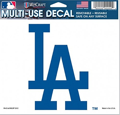 MLB Los Angeles Dodgers 14420012 Multi-Use Colored Decal, 5