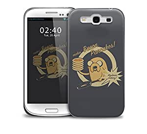Adventure Time Pancakes Samsung Galaxy S3 GS3 protective phone case