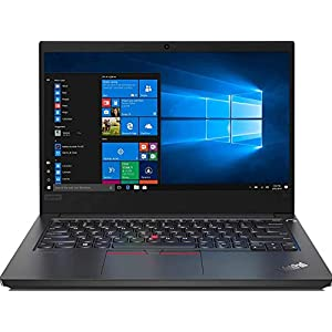 Lenovo ThinkPad E14 Intel Core i3 10th Gen 14″ (35.56cms) Full HD Thin and Light Laptop (4GB RAM/ 256GB SSD/ Windows 10 Home/ Microsoft Office Home & Student 2019/ Black/ 1.69 kg), 20RAS0WH00