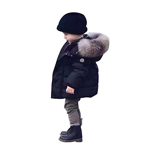 16739fb7316b De feuilles Chic-Chic Kids Baby Boys Winter Hoodie Hooded Puffer ...