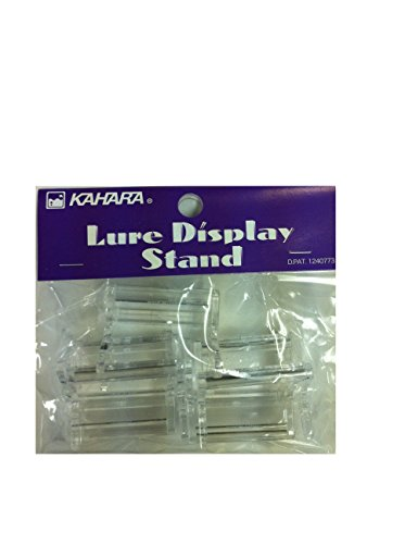 KAHARA JAPAN Lure Display Stand 5 pieces Made in Japan (Lure Display)