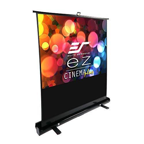 Elite Screens ezCinema Plus Series 100-inch Diagonal 4:3 Floor Pull Up Portable Projection Screen Model: F100XWV1 [並行輸入品] B07DZLJCQJ