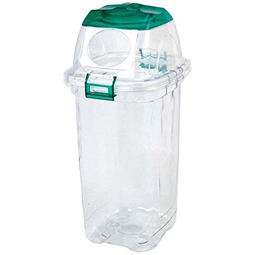 積水テクノ成型 透明エコダスター ペットボトル用 45L(グリーン) TPDD45G B002QUVQ0A