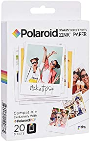 Papel de impressão POLZL3X440 p/câmera digital Polaroid Pop 40 poses